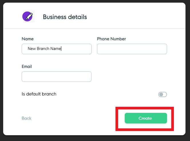 BP - Business Details